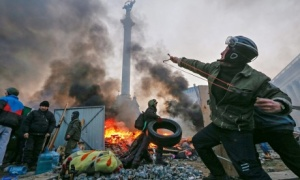 Anti-government protests in Ukraine